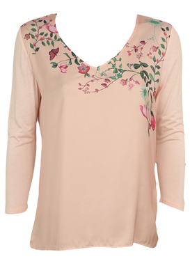 BLUZA ORSAY FLORAL PINK