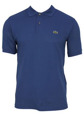 TRICOU POLO LACOSTE REGAN DARK BLUE