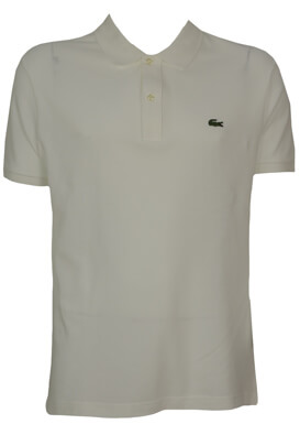 TRICOU POLO LACOSTE BASIC WHITE