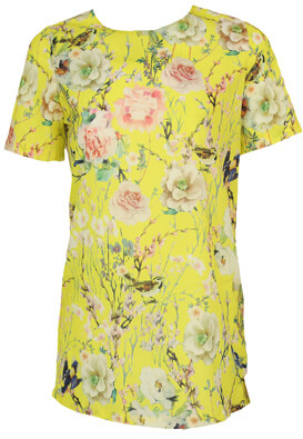 ROCHIE GLAMOROUS FLORAL YELLOW
