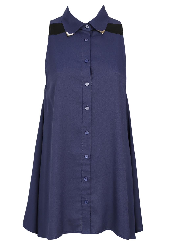 Camasa Glamorous Jodie Blue