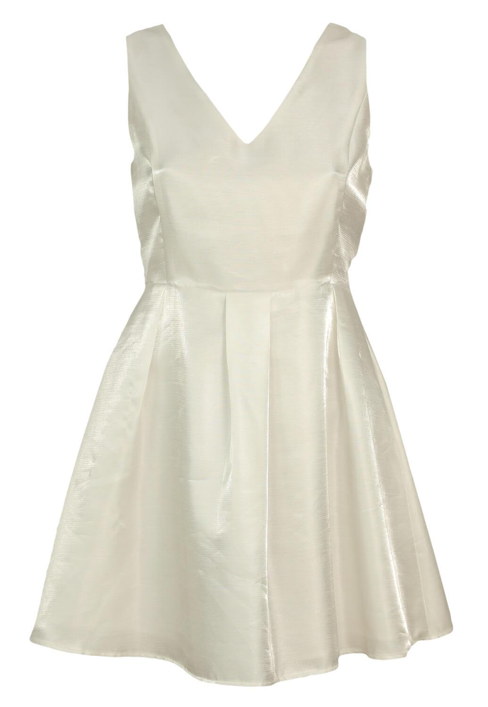 Rochie Glamorous Fancy White