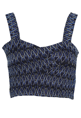 TOP ZARA HAL DARK BLUE