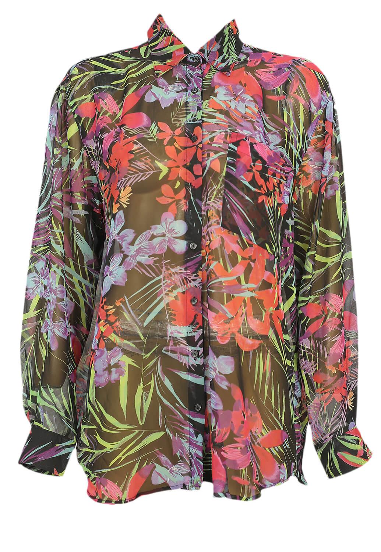 Camasa Glamorous Floral Colors