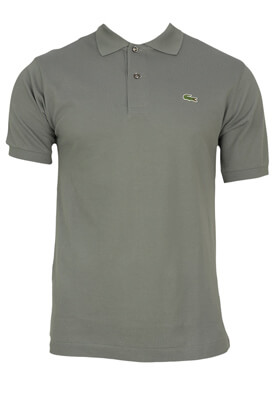 TRICOU POLO LACOSTE REGAN DARK GREY