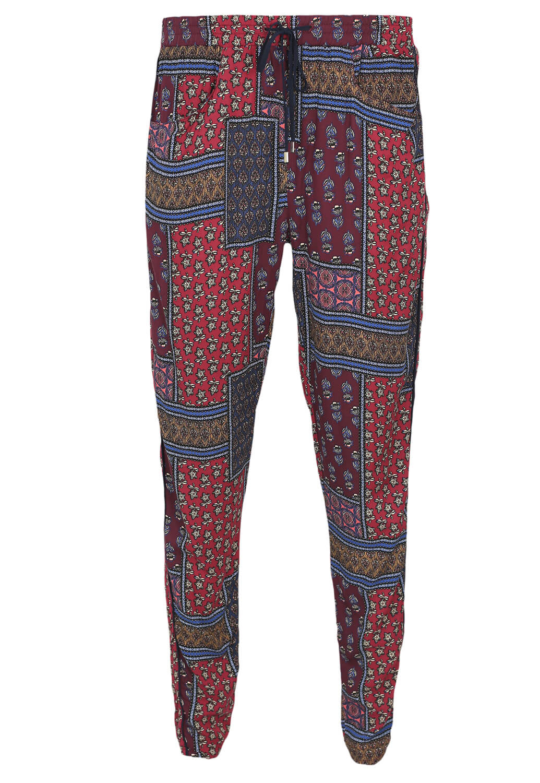 Pantaloni Bershka Rene Dark Red