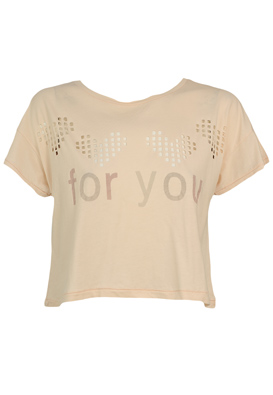 TRICOU ZARA CUTE LIGHT PINK