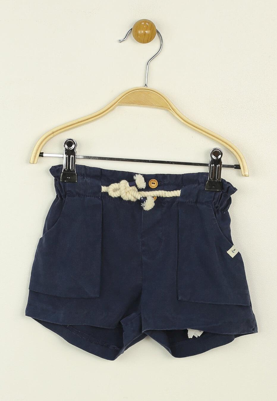 Pantaloni scurti ZARA Della Dark Blue
