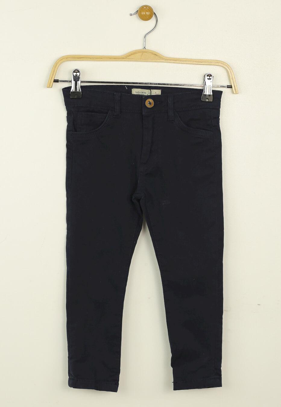 Pantaloni ZARA Basic Dark Blue