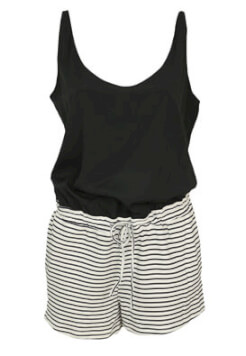 SALOPETA ZARA VERA BLACK AND WHITE