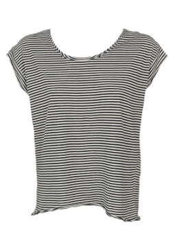 TRICOU ZARA HAILEY BLACK AND WHITE