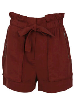 PANTALONI SCURTI ZARA ZOE RED