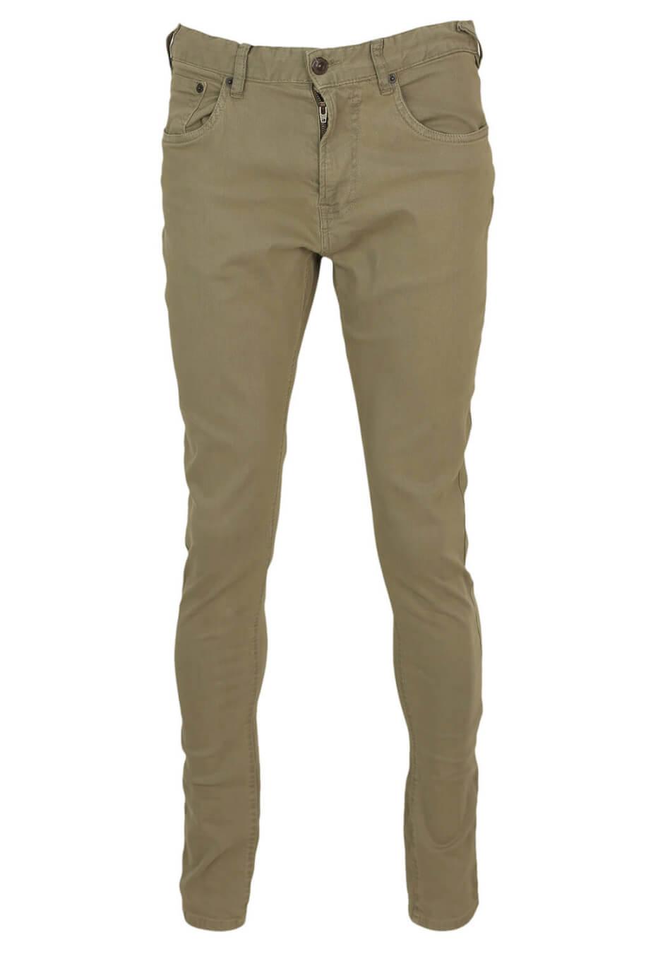 Pantaloni ZARA Sage Dark Green