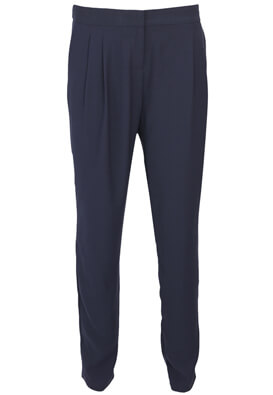PANTALONI DE STOFA PROMOD KITTY DARK BLUE