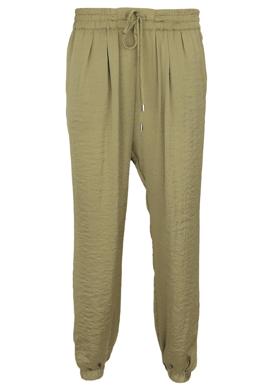 Magazin Online Haine - Pantaloni ZARA Hera Green -Fashion-4u.Eu
