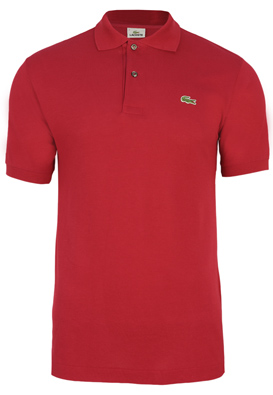 TRICOU POLO LACOSTE HAL RED