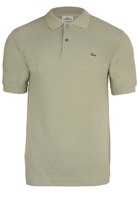 TRICOU POLO LACOSTE ARMY LIGHT GREEN