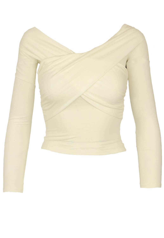 Magazin Online Haine - Bluza Bershka Wendy White -Fashion-4u.Eu