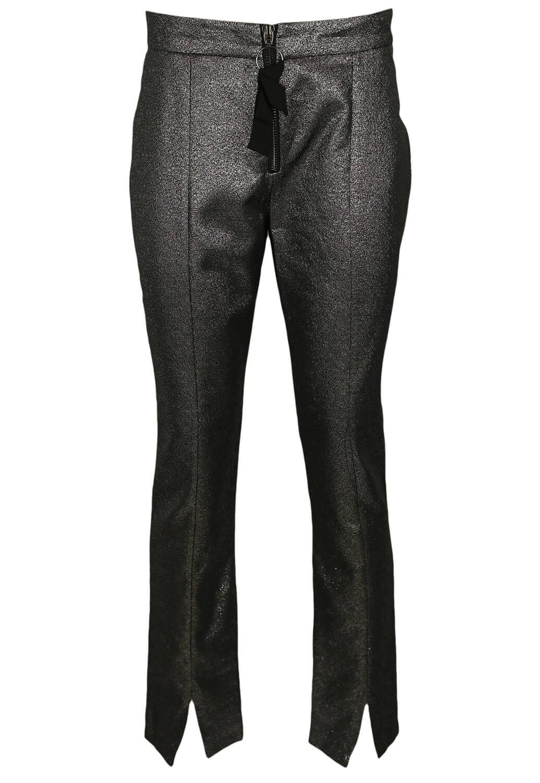Magazin Online Haine - Pantaloni ZARA Hera Silver -Fashion-4u.Eu