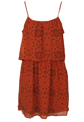 ROCHIE CACHE CACHE FLORAL RED AND BLACK