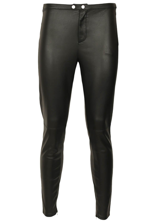 Magazin Online Haine - Pantaloni Bershka Summer Black -Fashion-4u.Eu