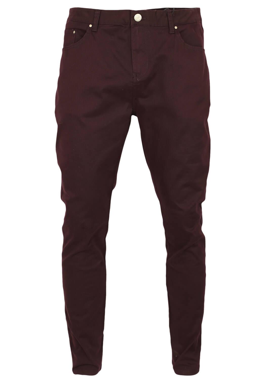 Pantaloni Bershka Basic Dark Purple