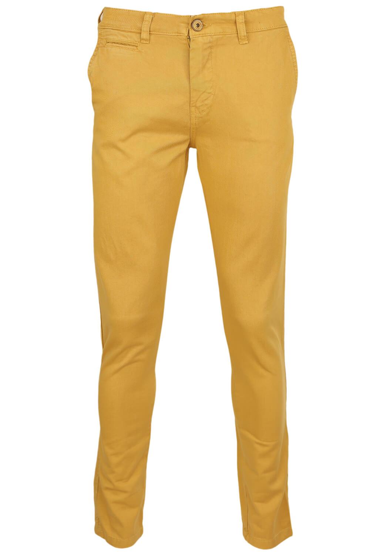 Pantaloni Bershka Cyril Dark Yellow