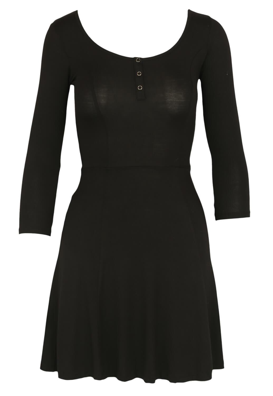 Magazin Online Haine - Rochie Bershka Hera Black -Fashion-4u.Eu