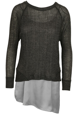 BLUZA ZARA OPHTA DARK GREY