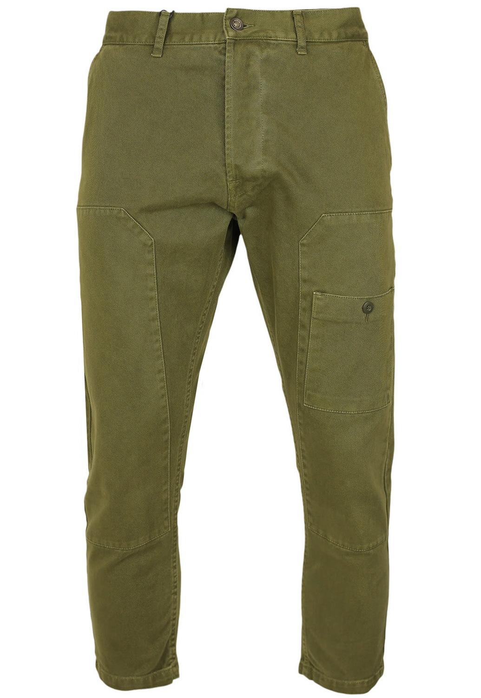 Pantaloni ZARA Kade Dark Green