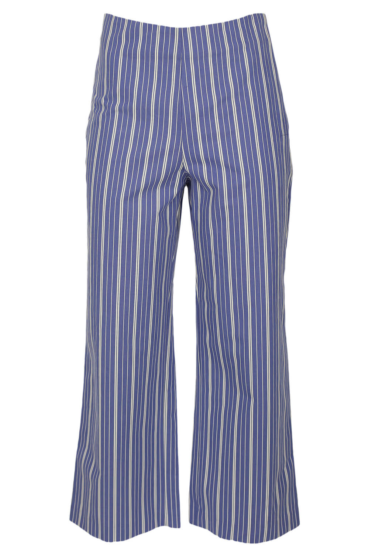 Magazin Online Haine - Pantaloni ZARA Pollyana Blue -Fashion-4u.Eu