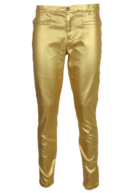 PANTALONI ZARA SHINE GOLDEN