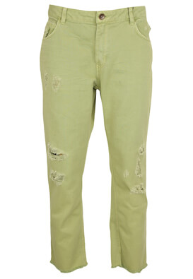 PANTALONI ZARA VANESSA LIGHT GREEN