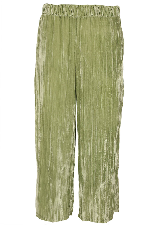 Pantaloni ZARA Dasia Green