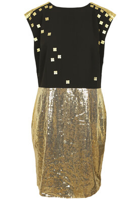 ROCHIE S.OLIVER SHINE BLACK AND GOLDEN