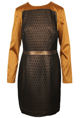 ROCHIE S.OLIVER SHINY BLACK AND BROWN