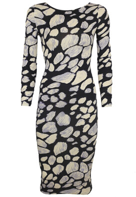 ROCHIE GLAMOROUS HERA BLACK AND WHITE