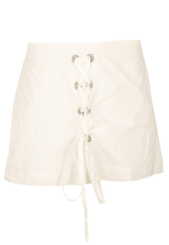 Pantaloni scurti ZARA Cute White