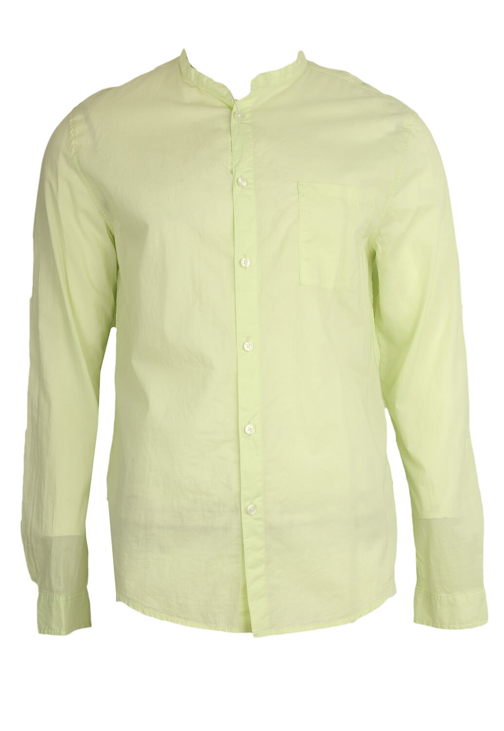 Camasa Bershka Carros Light Green