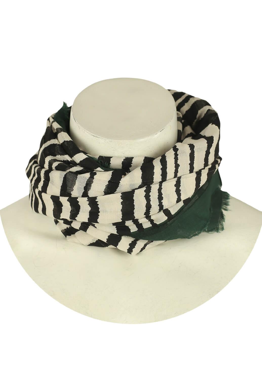 Esarfa ZARA Zebra Black and White