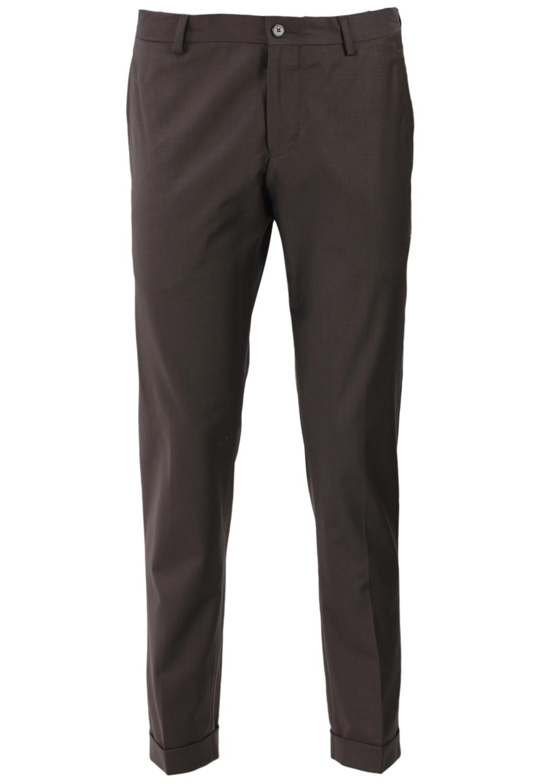 Pantaloni de stofa ZARA John Dark Brown