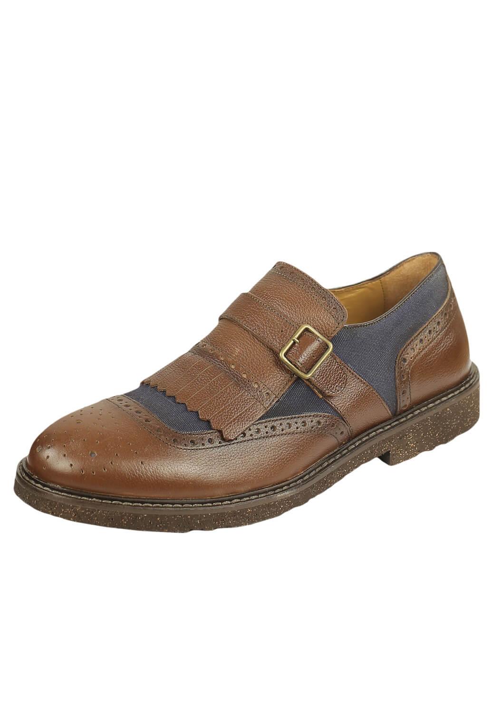 Pantofi piele Massimo Dutti Eden Dark Brown