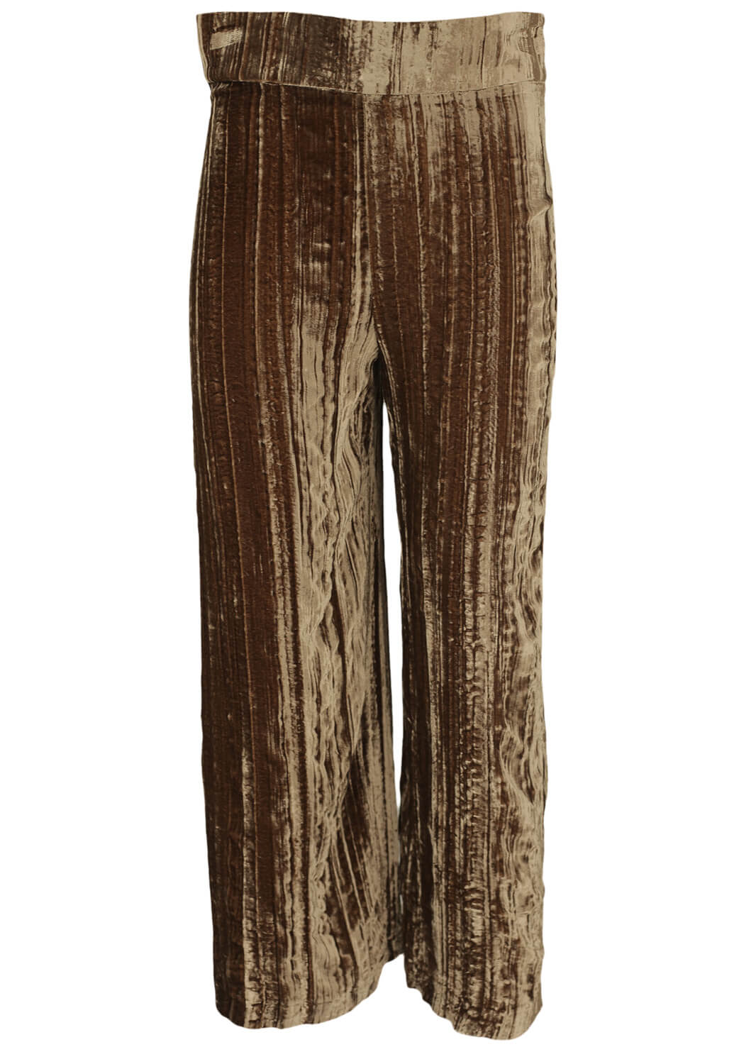 Pantaloni ZARA Aya Brown
