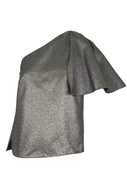 Bluza ZARA Shiny Silver