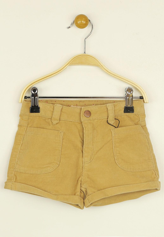 Pantaloni scurti ZARA Vanessa Light Brown