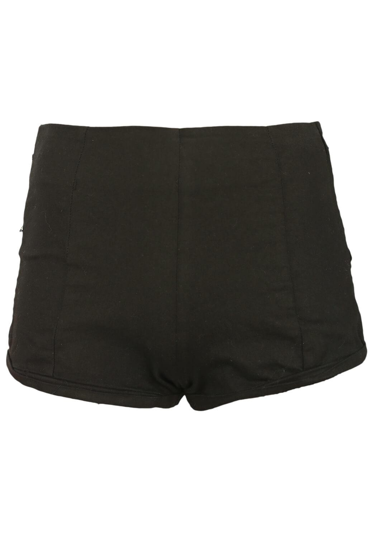 Pantaloni scurti Bershka Hera Black