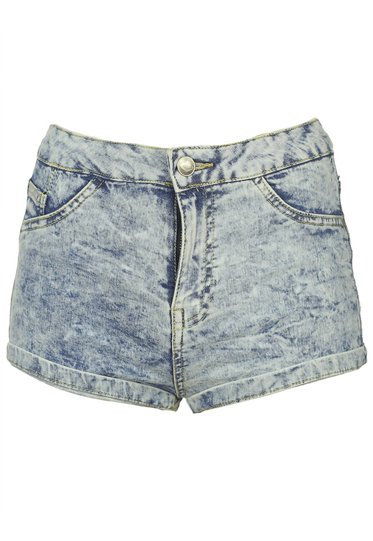Pantaloni scurti Bershka Taya Blue