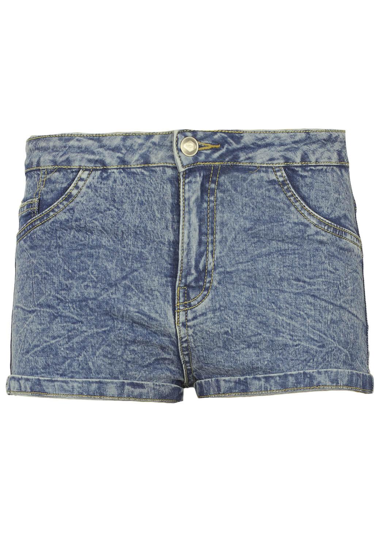 Pantaloni scurti Bershka Jodie Blue
