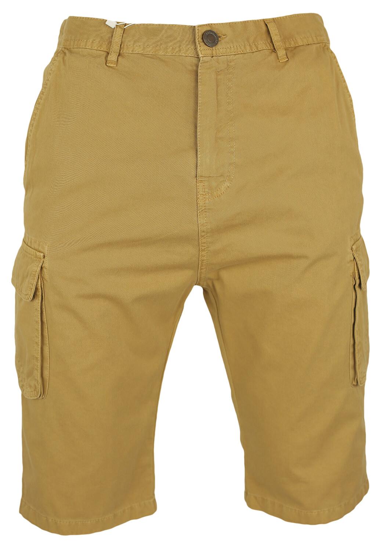 Pantaloni scurti Bershka Nile Beige