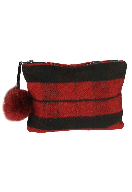 Plic ZARA Pollyana Black and Red